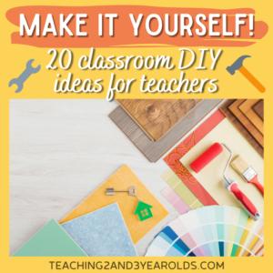 Classroom DIY Ideas for Teachers