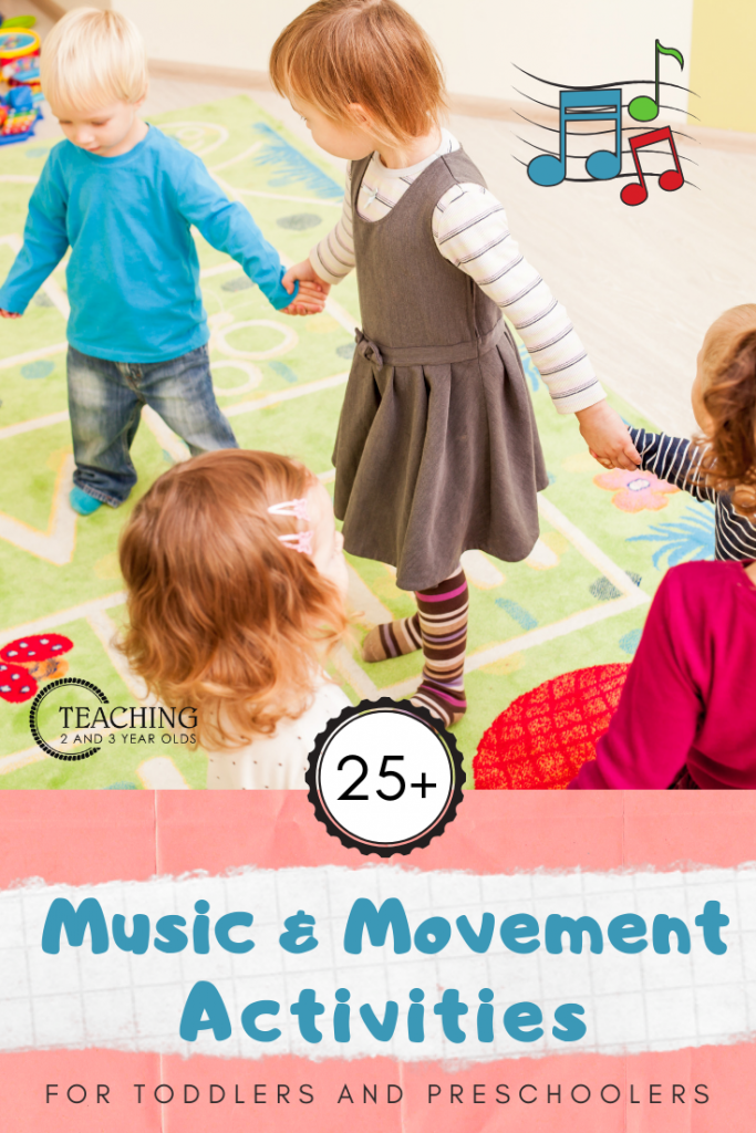 Music and Movement Activities for Toddlers and Preschoolers