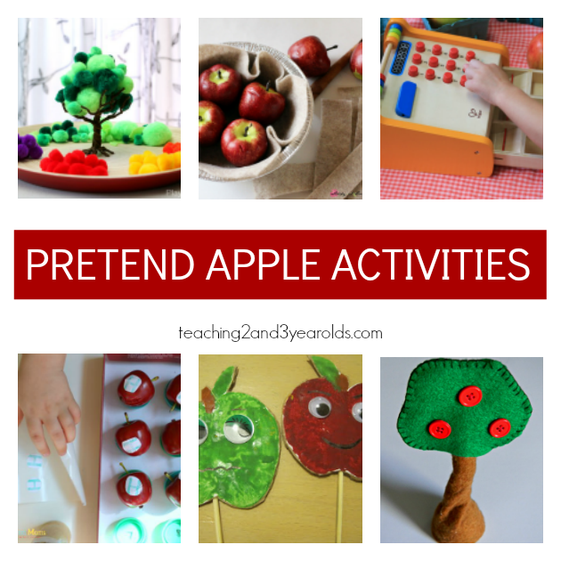 Preschool Apple Theme Ideas for Dramatic Play - Teaching 2 and 3 Year Olds