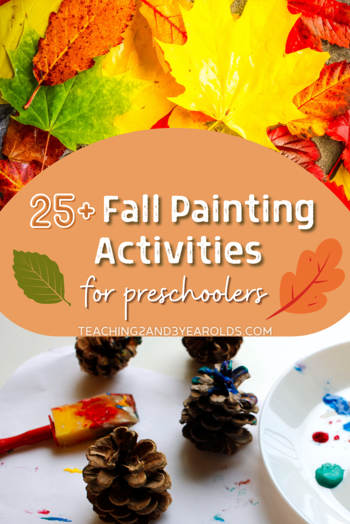 25+ Preschool Fall Painting Activities
