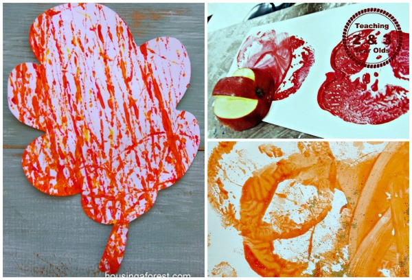 fall painting activities