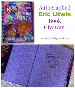 Eric Litwin Dance Contest and Book Giveaway