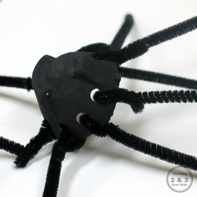 preschool spider craft 4
