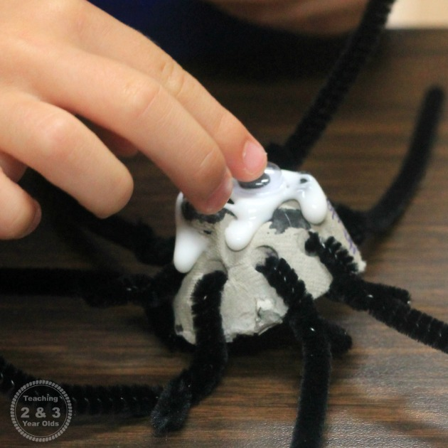 Spider Counting Craft for Preschoolers
