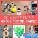 Christmas gross motor games