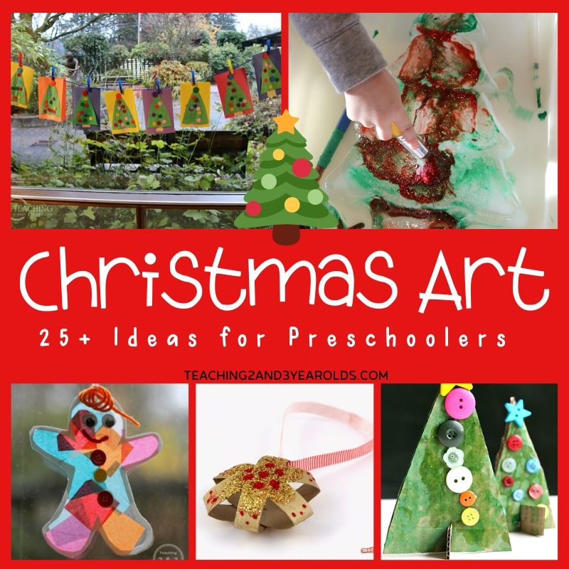 14+ Christmas Art Ideas