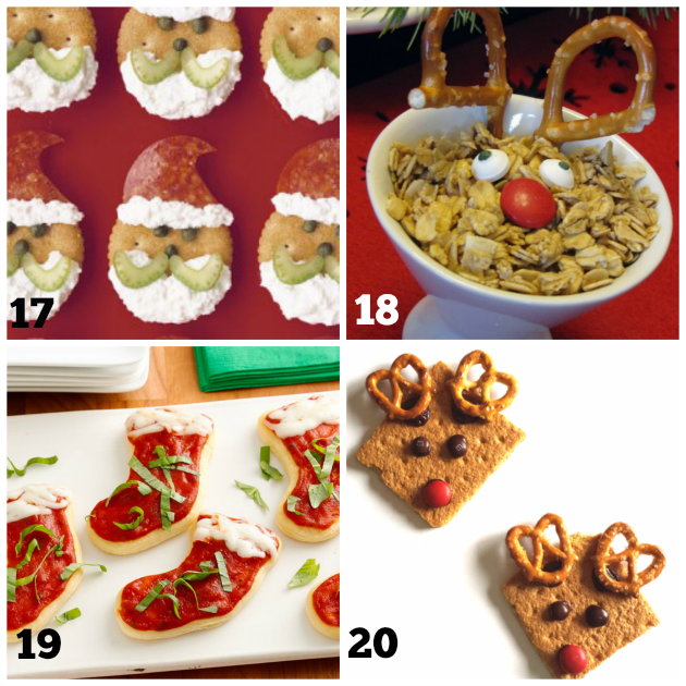 Fun Kids Christmas Snacks - Teaching 2 and 3 Year Olds