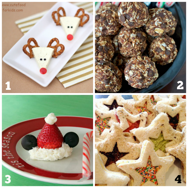 Kids Christmas Snacks - Fun for Playgroups and Class Parties! Teaching 2 and 3 Year Olds