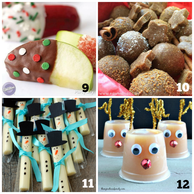 Kids Christmas Snacks - Teaching 2 and 3 Year Olds
