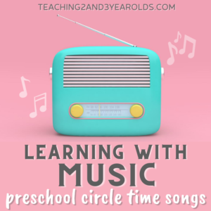 How to Use Circle Time Songs as Learning Activities