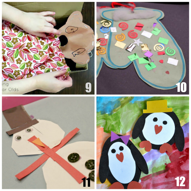 20 winter crafts for preschoolers for Winter crafts for preschoolers