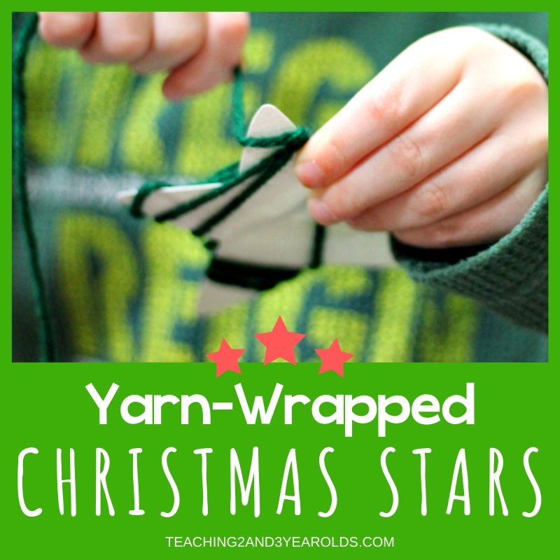 Simple Yarn-Wrapped Star Activity