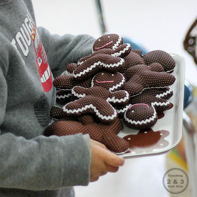 Gingerbread Dramatic Play Ideas - Teaching 2 and 3 Year Olds