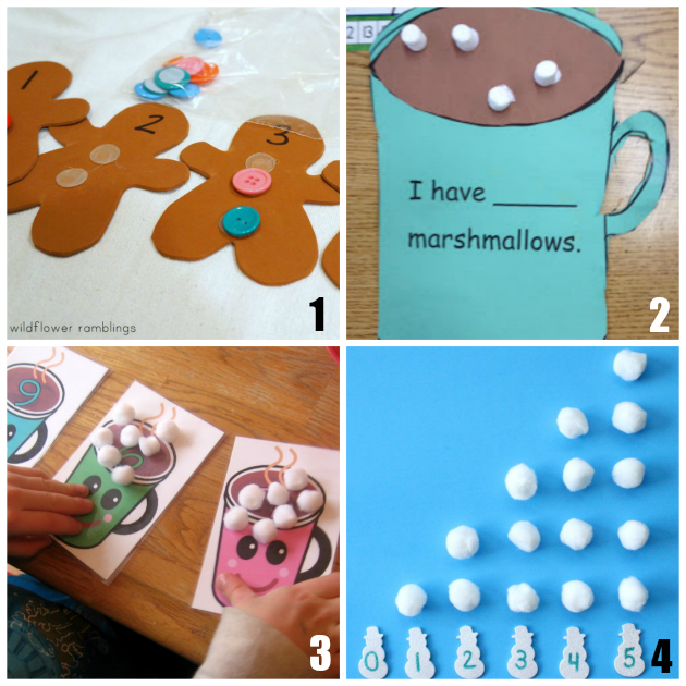 12 of the Best Preschool Math Activities for Winter
