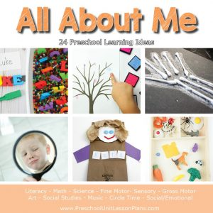 Preschool All About Me Lesson Plans