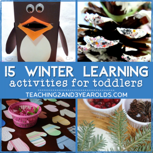 15 Winter Learning Activities for Preschoolers
