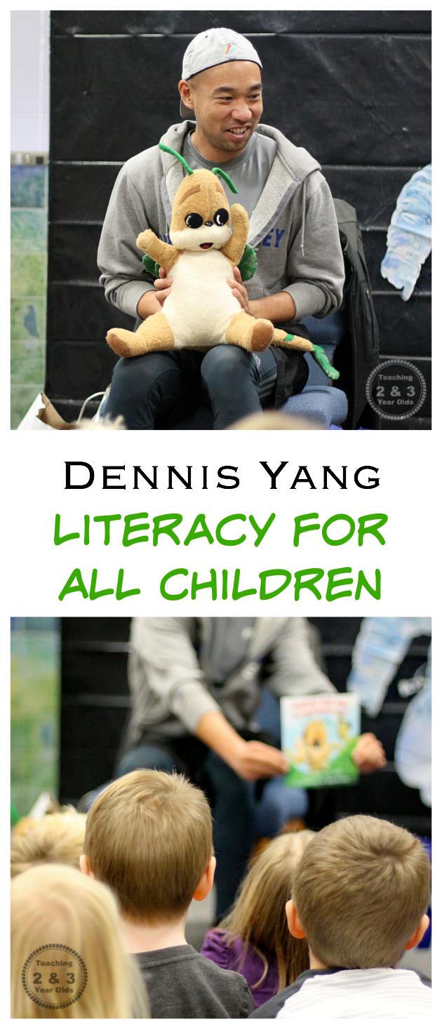 Dennis Yang Promoting Literacy