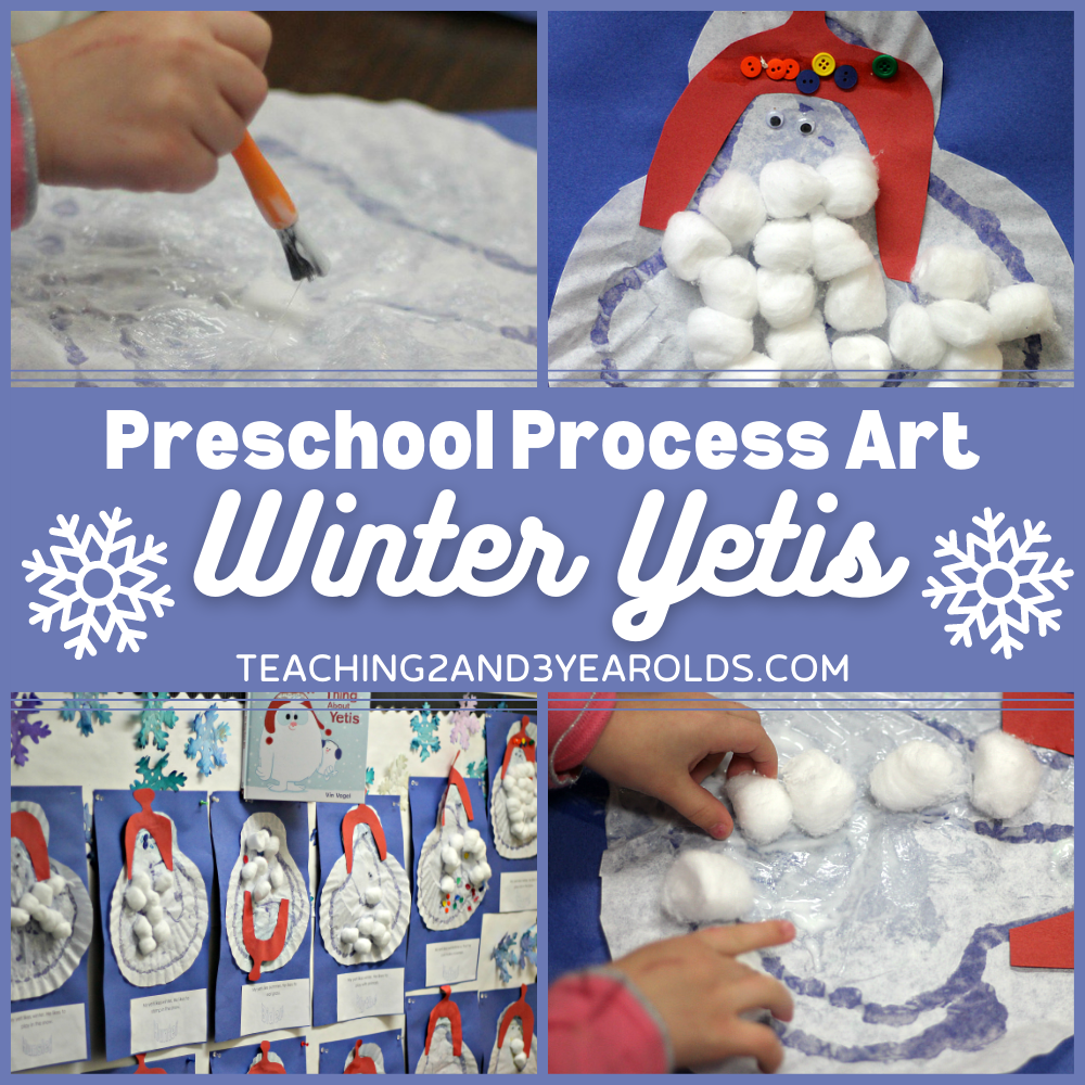 Learning About Winter with a Fun Yeti Craft