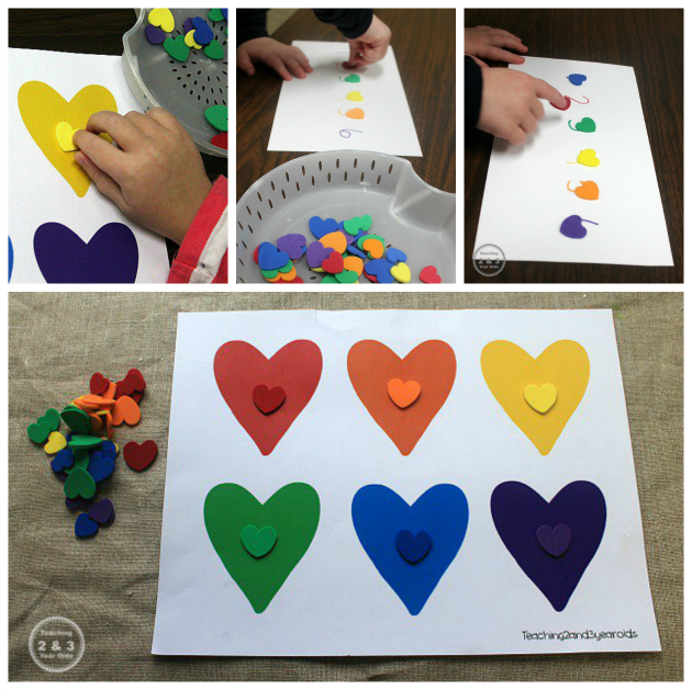 Valentine's counting activity with free printable!