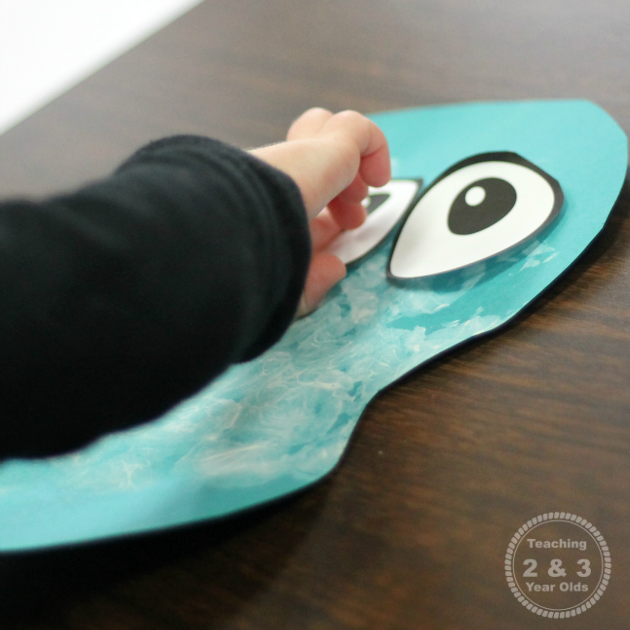 Easy Snowman Art for Toddlers - Teaching 2 and 3 Year Olds
