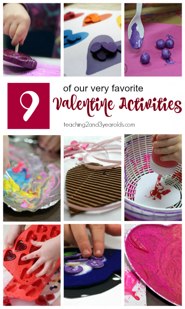 favorite Valentine activities for kids