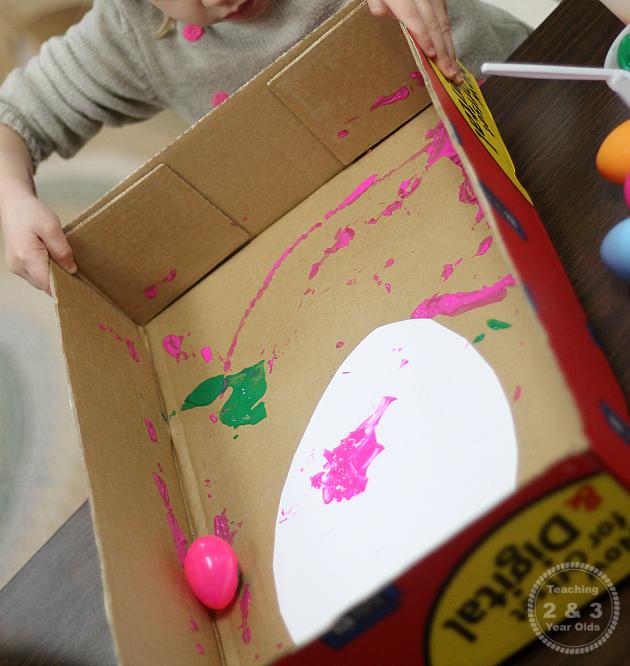 preschool Easter art