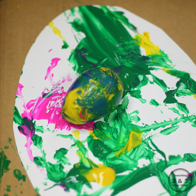 preschool Easter art