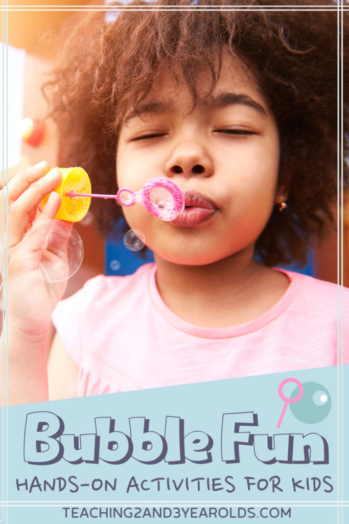 How to Put Together Amazing Bubble Activities