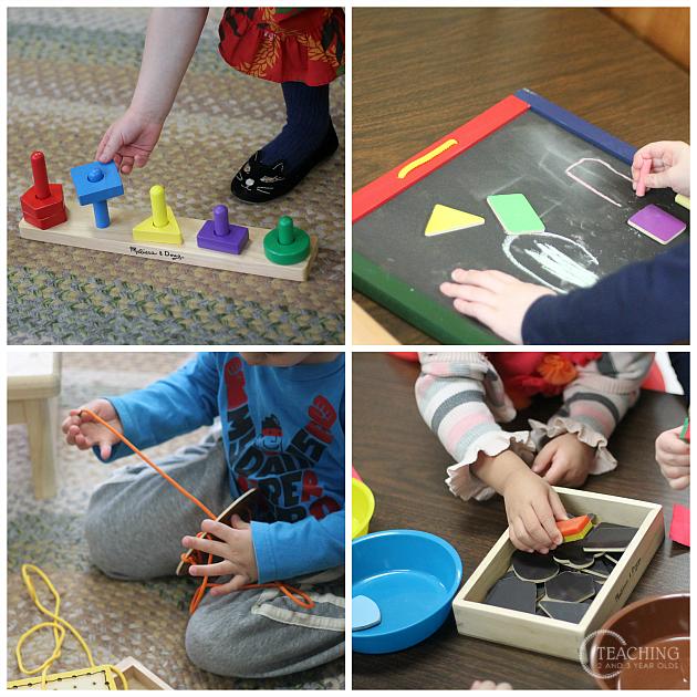 Learning Shapes in Preschool