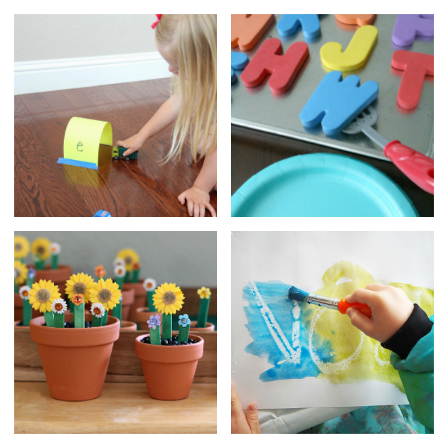 16+ Playful Toddler Alphabet Activities