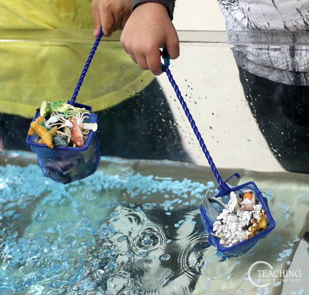 How to Make a Preschool Ocean Activity Using the Sensory Bin