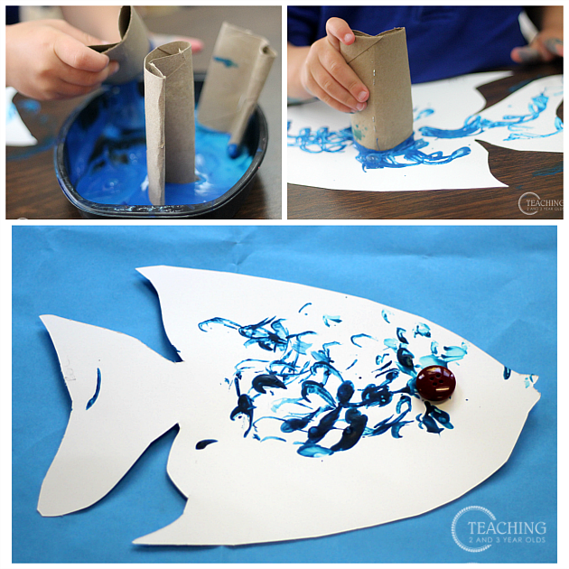 Easy and Fun Toddler Fish Craft