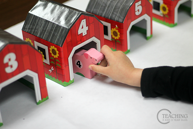 Learn how to teach counting to preschoolers using toys. This collection of math activities is playful and fun, for home or school!