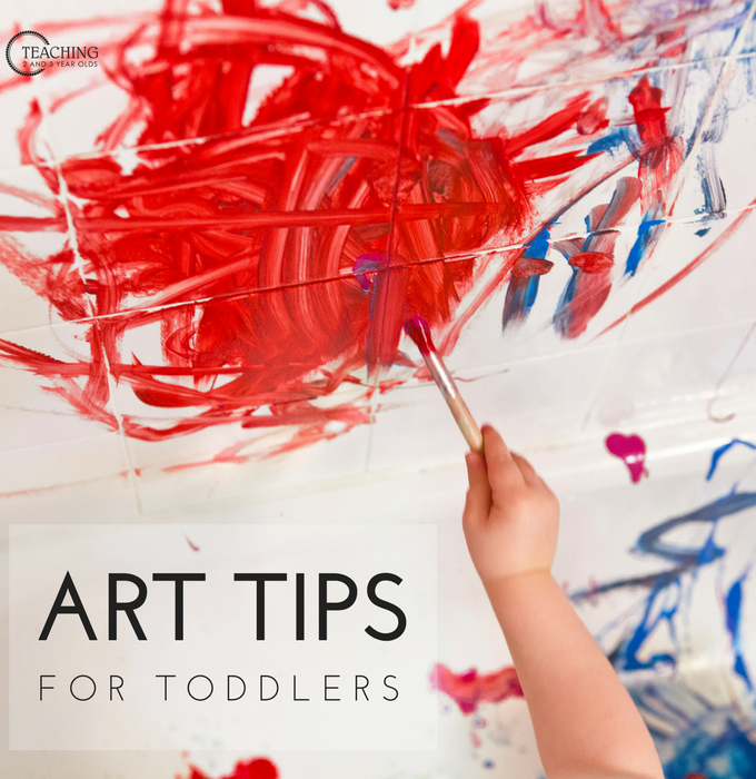 Easy Art Tips for Toddlers