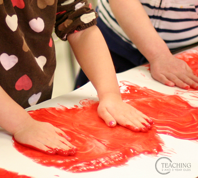 toddler painting activities