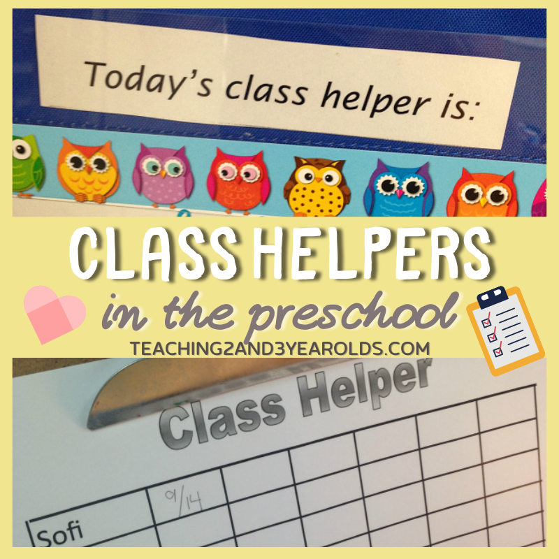 How to Have a Preschool Class Helper