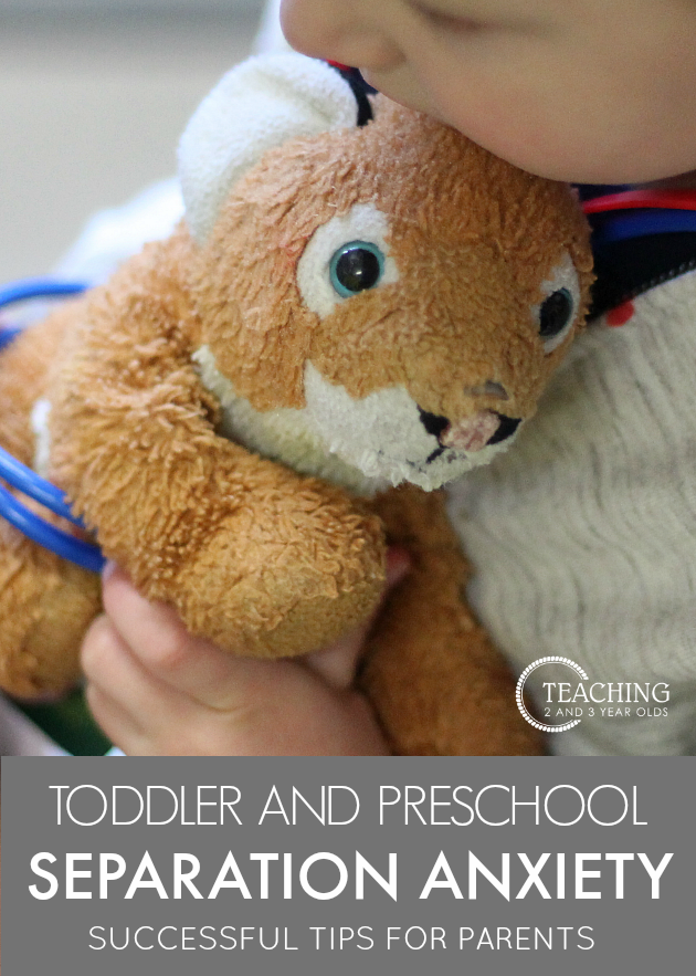 Separation Anxiety Tips for Toddlers and Preschoolers