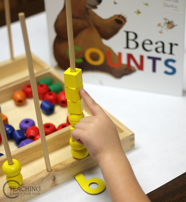 Preschool Math with Bear Count