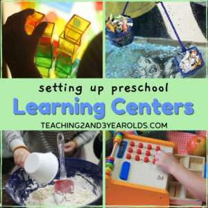 How to Set Up Your Preschool Learning Centers