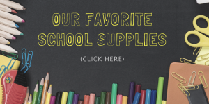 favorite preschool school supplies