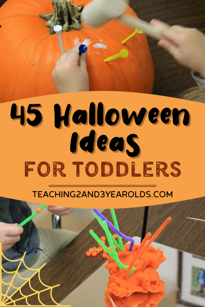 45+ of the Best Toddler Halloween Activities