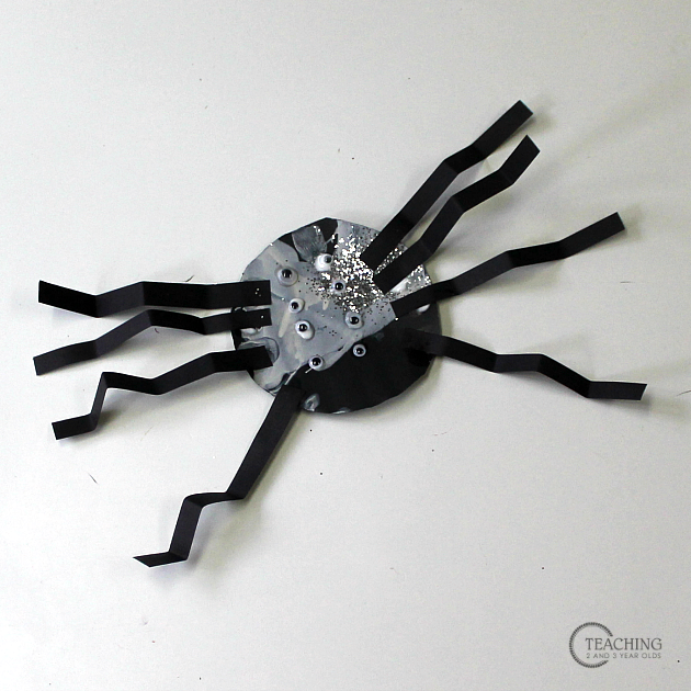 How to Make a Fun Preschool Spider Craft Using a Salad Spinner