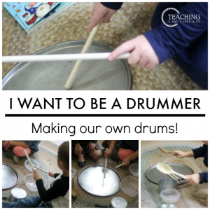 I Want to Be a Drummer Activity