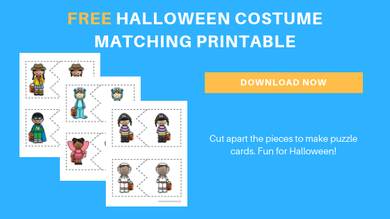 free Halloween costume matching printables