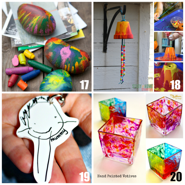20 handmade gifts kids can make