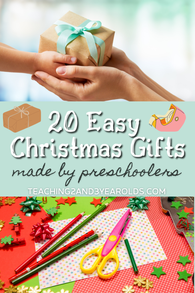 20 Easy Christmas Gifts Made by Kids