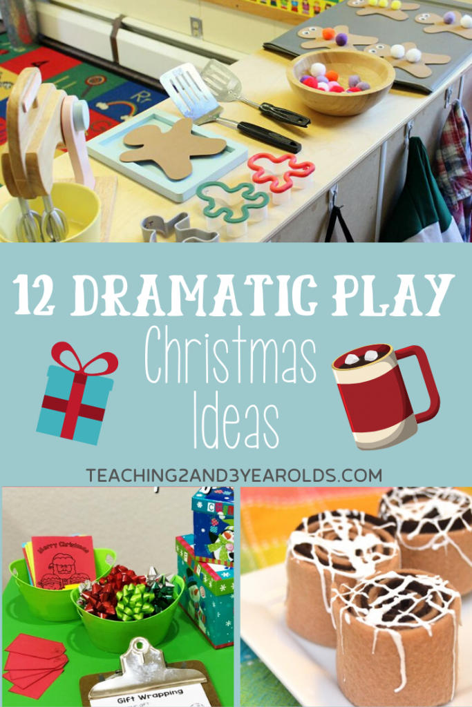 12 Fun Christmas Dramatic Play Activities for Toddlers and Preschoolers