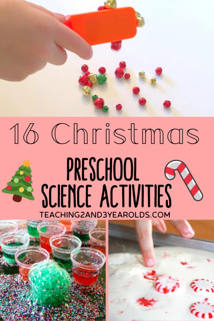 16 Amazing Christmas Science Activities for Preschoolers