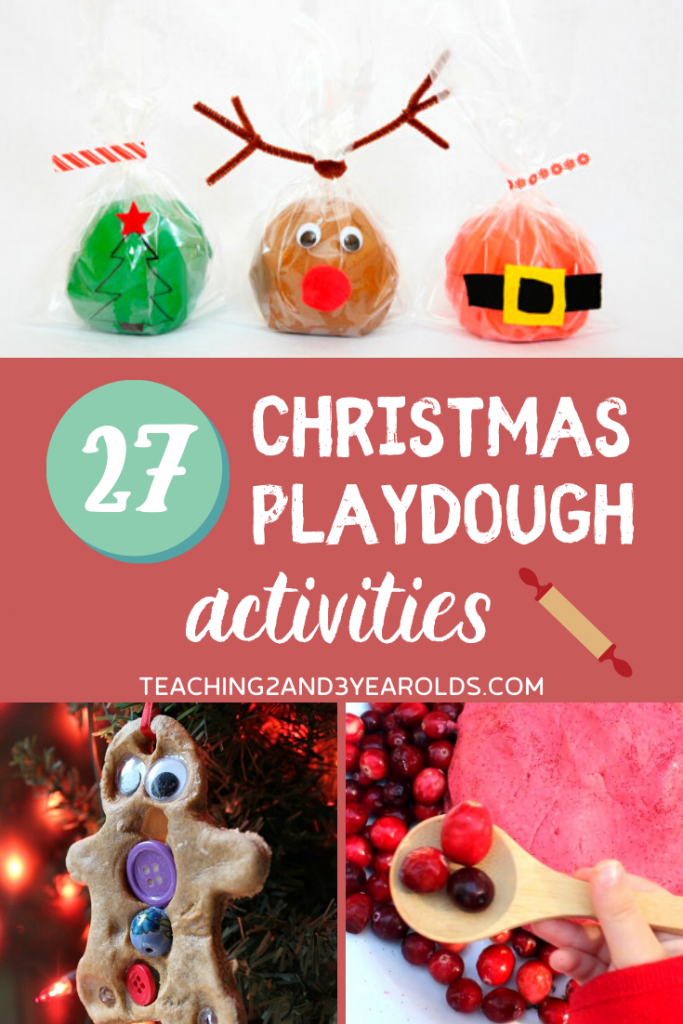 27 Christmas Playdough Activities for Toddlers and Preschoolers