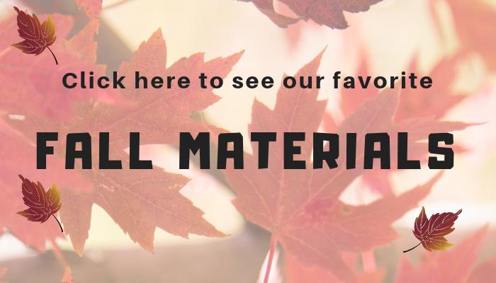 preschool fall materials